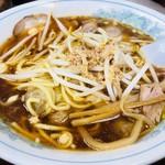 丸福中華そば - ワンタン麺(770円)