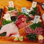 海鮮山 - 秋刀魚、鰯、ソイ、鰤、鯵。 美味しかった順。
