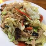 中華料理一番 - 肉キャベツ炒め