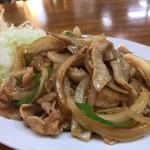 中華料理一番 - 豚バラ炒め
