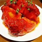 ハチノス - トマトキムチ     ¥500