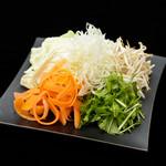 チキンカントリー - 追加お鍋野菜