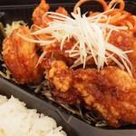 手作り弁当Peace - ネギだれ鶏の唐揚げ弁当