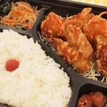 手作り弁当Peace - 鶏の唐揚げ弁当