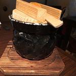飛騨牛グリルばくろ - 土鍋にもご飯。お腹いっぱいでおかわりできず。