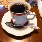 空穂屋 - ドリンク写真:カップとソーサはHOYA製