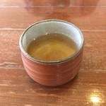 76994826 - 本日のお茶(どくだみ茶)