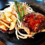 肉のはせ川 - 合挽きハンバーグ180g