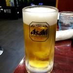 中華料理 大福 - 生ビール