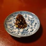 朴念仁 - そば味噌300円
