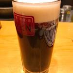 和食・酒 えん - 生ビール ハーフ&ハーフ