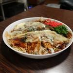 きのこ亭 - 料理写真:ほたて玉 チーズトッピング 1,000円