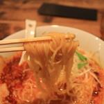 麺家 烈 - 細麺
