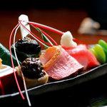 京都一の傳本店 - 料理写真:焼きたての西京焼きを四季折々の食材と楽しむコース料理