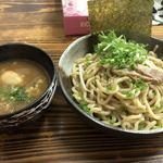 麺魂 - 味玉一六つけそば(温)
