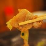 居酒屋コバラヘッタ - 豚肉とキャベツの味ぽん炒めアップその3