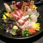 77000529 - 新鮮鮮魚の造りと5種お造り