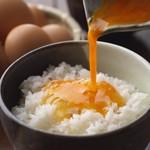 串猿 - TKG(卵かけごはん)380円(税別)