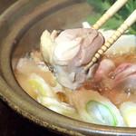 銀座9丁目 - 冬季限定!牡蠣鍋or鶏鍋