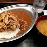 昭和食堂 - スタミナとカレーのあいもり:780円