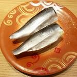 こだわり廻転寿司 まぐろ人 - 小肌:180円税別
