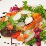 77003028 - ランチコース 2500円 の農園野菜のテリーヌ