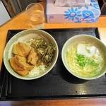77005080 - ラフテー丼+沖縄そば