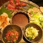 77005460 - 前菜と刺身盛り合わせ  2000円 税別
