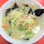 大楽亭 - 野菜たっぷりタンメン