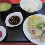 大楽亭 - <参考>スタミナ定食