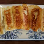 四季紅福 - 焼き餃子280円