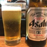 倉敷らーめん 升家 - 2017年11月 ちょいと高い瓶ビール