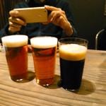 77008070 - 生ビールは確か4種類。一杯7か800円くらい?
