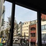 トリトンカフェ - 2階の窓から眺め