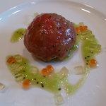 レストラン シェ・オカ - フルーツトマトのファルシー