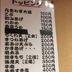 77011289 - (メニュー)トッピング