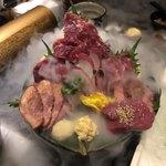 博多野菜巻き串 餃子 もつ鍋 芋蔵 -