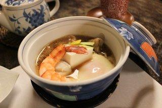 小川家 - ちり蒸し豆腐