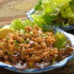 ひき肉のサラダ(ラープ)★※鶏・豚・牛からお選びください