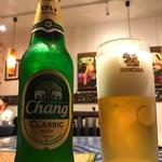 ラーンナー タイレストラン - チャーンビール