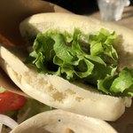 蔵茶房 なつめ - 自家製パンは米粉のパンです お味は花巻風