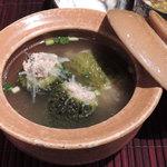ゴーヤと豚肉のあっさりスープ(ゲンチューマラムー)