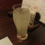 旬魚と個室 和食りん  - グレープフルーツサワー 490円