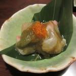 旬魚と個室 和食りん  - 真鯛とろろ昆布 580円