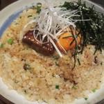 旬魚と個室 和食りん  - 名物フォアグラ炊き込みご飯(中) 1980円