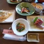 たつみそば - 料理写真:'17/11/25 竹コース(2,800円)+茶碗蒸し(500円)