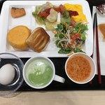 スーパーホテル 関内 - 朝食はバイキング