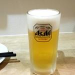 はたがやレバー - 生ビール:550円