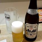 はたがやレバー - 瓶ビール:600円