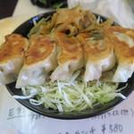 大和名物大餃子の店 サイヨー - 餃子丼レギュラーサイズ